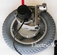 12 Inch Left Wheelchair Wheel