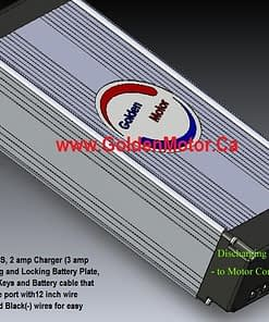 36V12AH LiFePO4 Aluminum Cased Battery