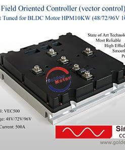 VECTOR 500 Series 96 Volt Brushless Motor Controller