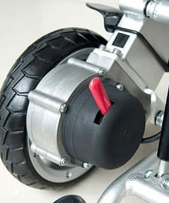 8 Inch Left Wheelchair Wheel