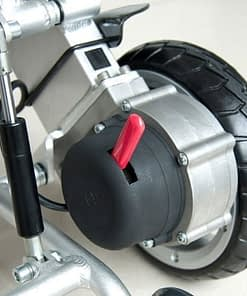 Joystick with pair of 8 Inch Wheelchair Wheels ( Left and Right )