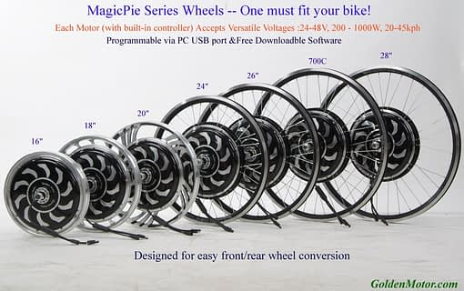 Magic Pie 4 VECTOR 16 Inch Rear Conversion Kit