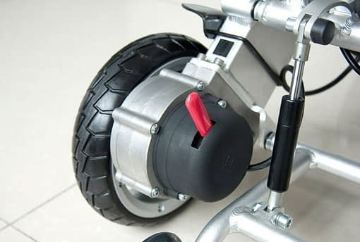 8 Inch Pair Wheelchair Wheels (left and Right)