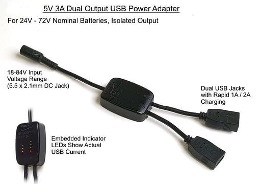 Dual USB Adapter
