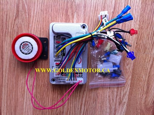 700c or 29er Rear Wheel Magic Pie External Controller Conversion Kit