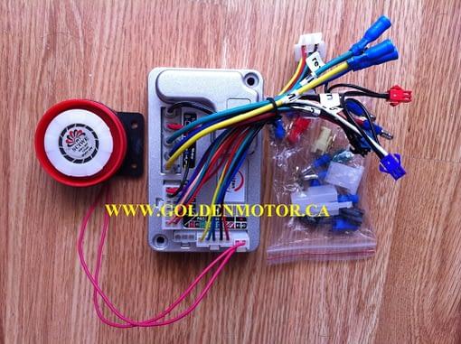 20 Inch Front Wheel Magic Pie External Controller Conversion Kit