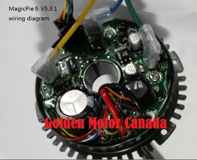 Magic Pie 5 Vector Internal Controller with Vector plug on